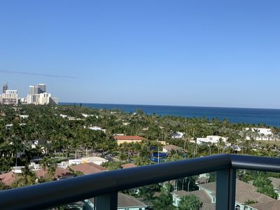 Photo for HIGHT FLOOR AMAIZING VIEWS STEPS FROM BEACH PARKING INCLUDED