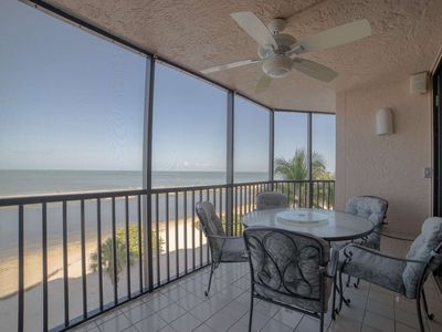 Photo for Well appointed 5th Floor, Gorgeous Gulf View, Beachfront Condo, Heated Pool, and Free Wifi!