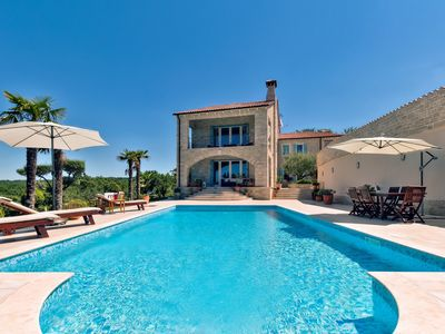 Photo for Luxury Villa Tranquility, in Istria, with a Pool