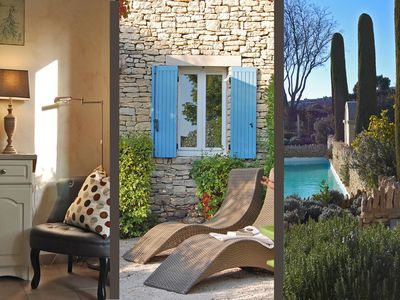 Photo for Holiday apartment Gordes for 1 - 5 persons with 2 bedrooms - Holiday apartment