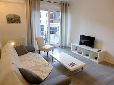 Photo for One bedroom Apartment, sleeps 4 in Saint-Jean-de-Luz with WiFi