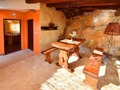Photo for Vacation home Luana in Roč - 9 persons, 3 bedrooms
