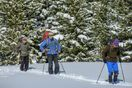 Easily access cross-country skiing trails!
