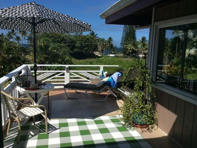 Photo for Mediteranean style SUITE/LOFT 650sft +big private Sundeck panoramic Ocean View