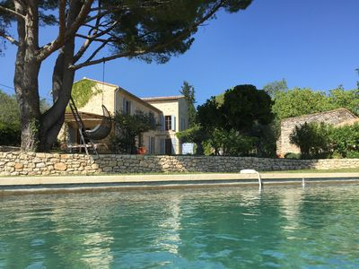 Photo for Promotion: Haven of peace - near Uzès - large plot - Heated Pool