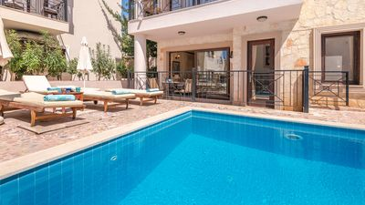 Cennet has a fabulous poolside location with gated terrace