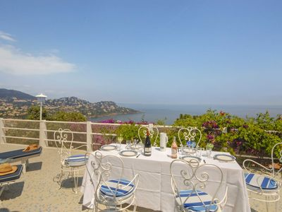 Photo for Wonderful 2 bedroom Villa in Théoule-sur-Mer (Q3569)