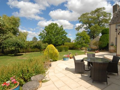 Photo for Ground Floor Accommodation in Cotswold Cottage.  Brilliant walks, golf, cycling