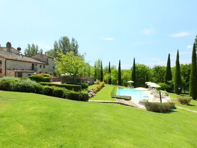 Photo for 2 bedroom Apartment, sleeps 4 in Poggio Santa Cecilia with Pool and WiFi