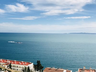 Photo for Apartment in Roses with excellent sea views