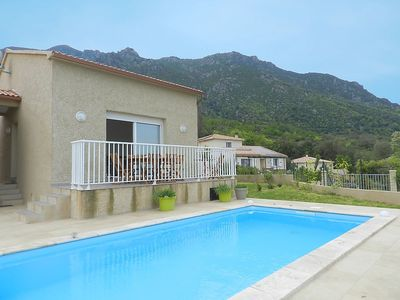 Photo for House in the center of Santa-Maria-Poggio with Internet, Pool, Parking, Terrace (507071)