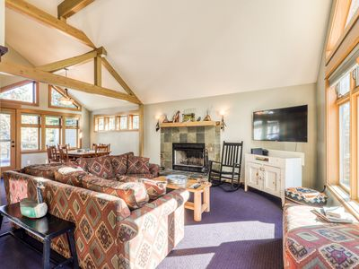 Photo for Sunny, warm house w/shared pool, private hot tub & stunning deck - SHARC passes!