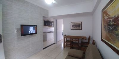 Photo for Apartment for 6 people, building in front of the beach. Tupi
