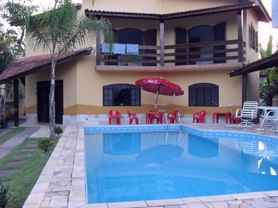 Photo for SOBRADO FOR RENT IN GUARATUBA SP VERY PRETTY WITH POOL AND BARBECUE