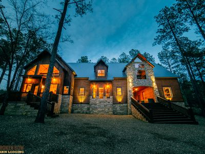 Photo for When Nature Calls:  7 BR + Game Rooms, 6.5 Bath, Sleeps 35