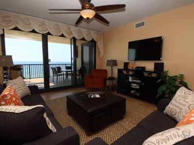 Photo for Romar House 906B - Beach Front Terrace and Luxurious Interior!