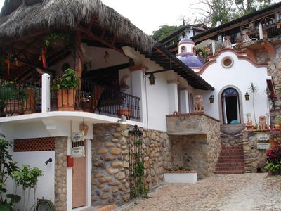 Photo for Beautiful Spanish Style Villa with Ocean View,100 steps from the Beach
