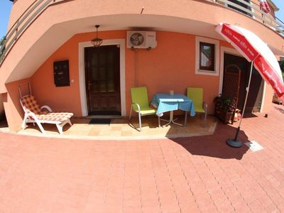Photo for Studio apartment in Umag with Air conditioning, Parking, Terrace, Garden (576315)