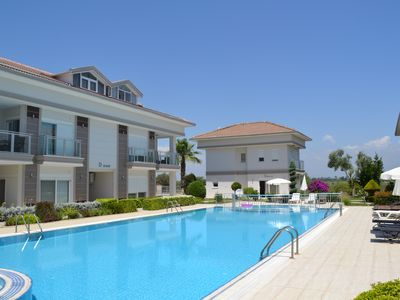 Photo for Belek golf garden private pool familie complex