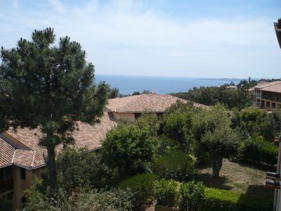 Photo for SUPERB STUDIO WITH SEA VIEW ST TROPEZ BAY
