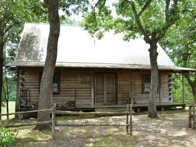 Photo for Log Cabin Close To Kyle Field