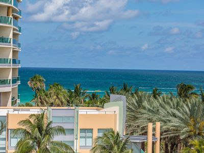 Photo for Multi Level Penthouse w/ Ocean Views, Private Rooftop Jacuzzi, Steps to Ocean