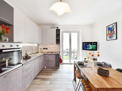 Photo for New accommodation a stone's throw from the historic center and the ski resort of Pila