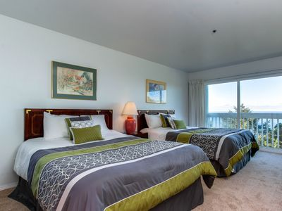 Photo for Oceanview, dog-friendly studio w/ awesome views & easy beach access!