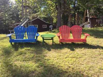 Photo for Beautiful Vacation Home located on Upper Buckatabon Lake