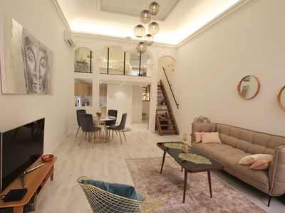 Photo for Le Senat: luxurious 2 beds flat, Old town, 150m from the beach