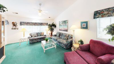 Photo for Multi-level Condo with 2 Full Kitchens. Close to Beach & INCLUDES Activity Center.