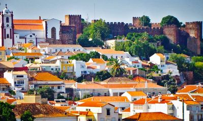 Photo for Portuguese townhouse, bar, restaurants, history, Golf, beaches nearby