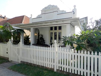 Photo for Manly Beach Tranquil retreat. Stunning historic house