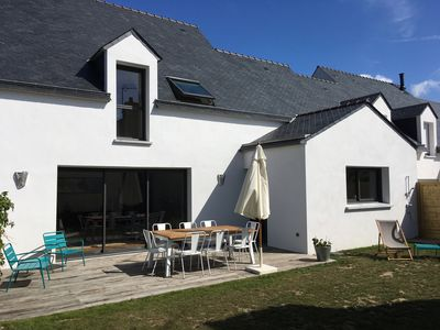 Photo for CHARMING NEW HOUSE St Pierre Quiberon 2 mins walk from the beach 10 sleeping