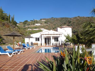 Photo for Beautiful villa for 6 with a pool. Costa del sol, Andalucia