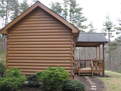 Photo for Cabin with river view and yoga retreat