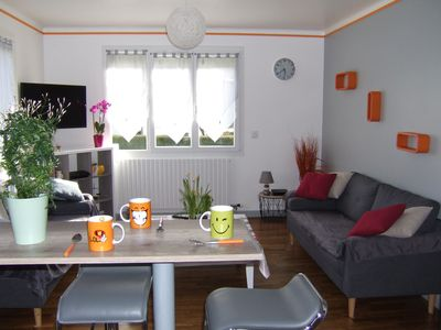 Photo for LOUDEAC, HOUSE (garden) 4 BEDROOMS (8 places). WIFI, Parking.