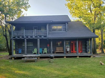 Photo for 3BR Cabin Vacation Rental in Hulbert, Oklahoma