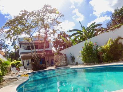 Photo for Huge Swimming Pool, Patio, Spacious Living Area And Walk To Everything