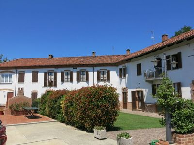 Photo for Cossombrato Apartment, Sleeps 4 with Pool and Free WiFi