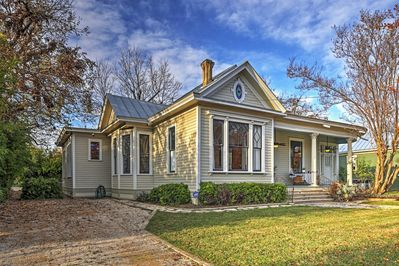 Restored Historic San Antonio Home Near Downtown Southtown