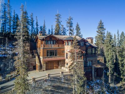 Photo for Luxe Slope-Side Retreat for entertaining, True Ski-in-Out, Views, 18 Guests