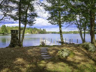 Photo for Timber Lodge @ Cummings Cove Meredith NH~ Rustic Waterfront Living