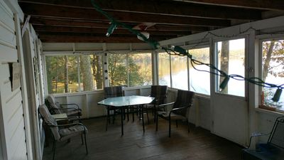 screened porch looking north