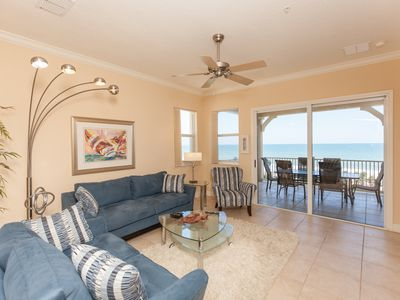 Photo for Cinnamon Beach 741 - Direct Oceanfront Corner Unit! New Living Room!!