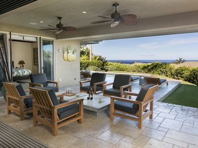 Photo for 3BR/3.5 BR Waiulaula Villa Mauna Kea Salt Water Pool/Spa Spectacular Ocean Views