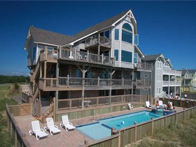 Photo for Oceanfront stunner with Incredible Views! Htd Pool&HotTub, Elevator,Gm Rm