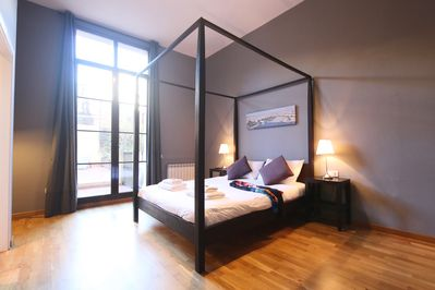 Master double bedroom with ensuite bathroom