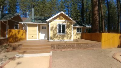 Photo for Fawn Meadow Cabin #5-deck, stone fireplace & private yard