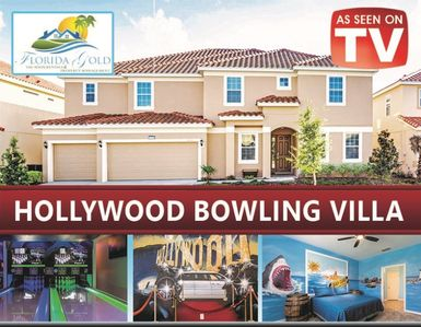 Photo for HOLLYWOOD - Famous Bowling House - 14 Bedroom 11 Bath Themed home in Solterra Resort